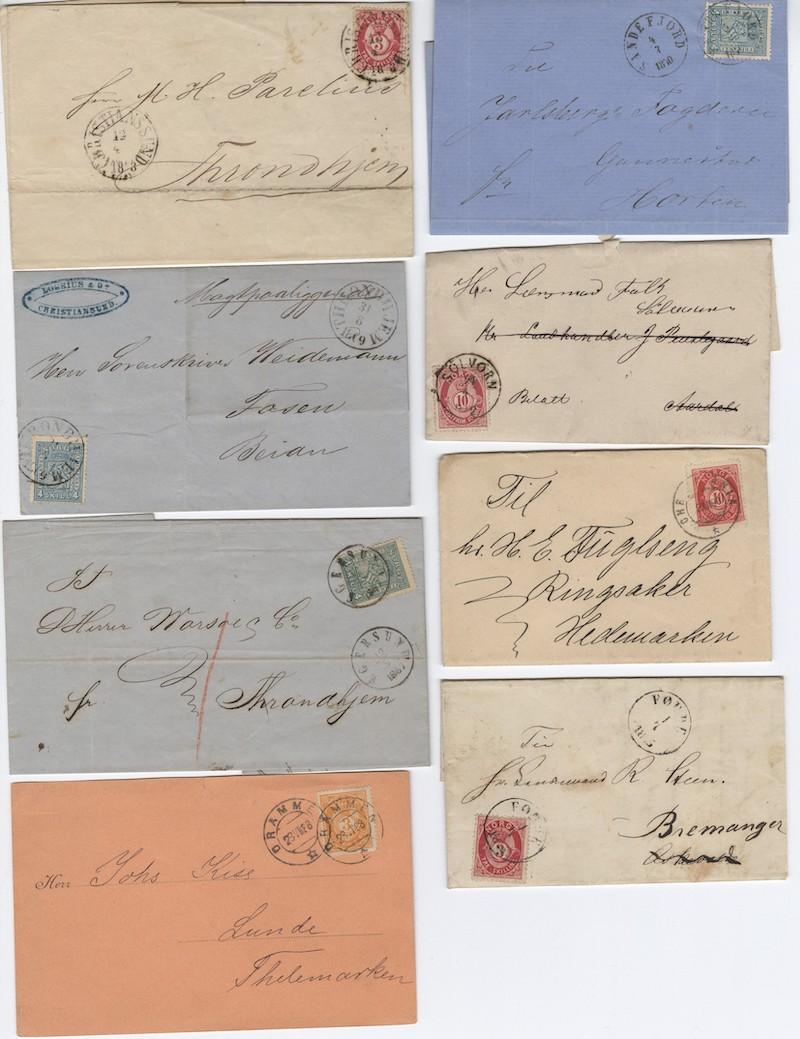 Lot 4728 - Brevlotter  -  Skanfil Auksjoner AS  Public auction 211