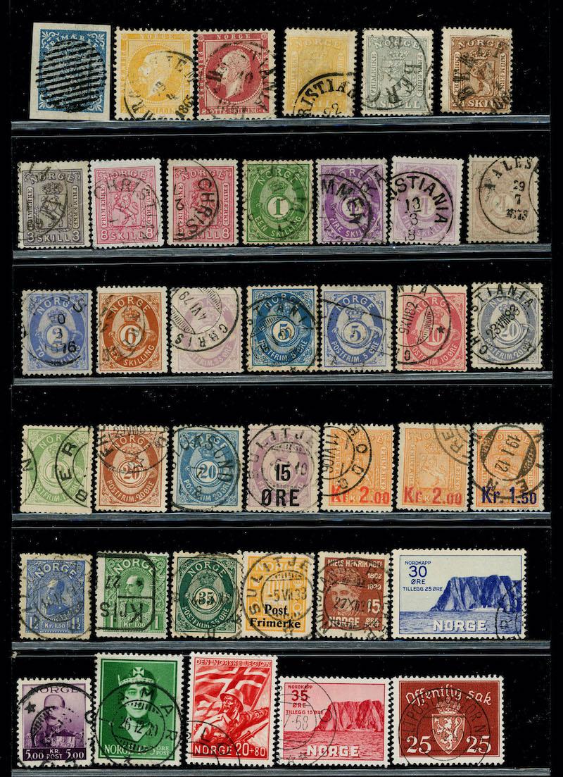 Lot 4743 - Samlinger/lotter over 1000,-  -  Skanfil Auksjoner AS  Public auction 211