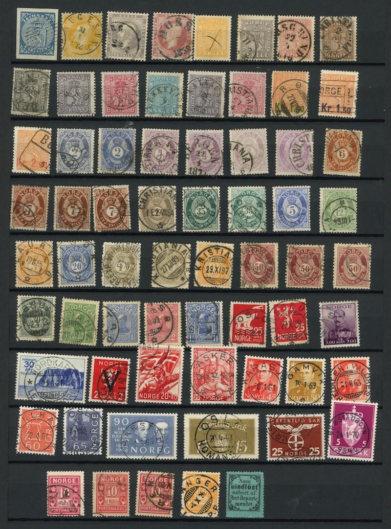 Lot 4746 - Samlinger/lotter over 1000,-  -  Skanfil Auksjoner AS  Public auction 211