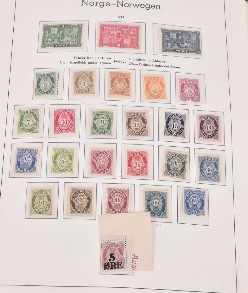 Lot 4751 - Samlinger/lotter over 1000,-  -  Skanfil Auksjoner AS  Public auction 211