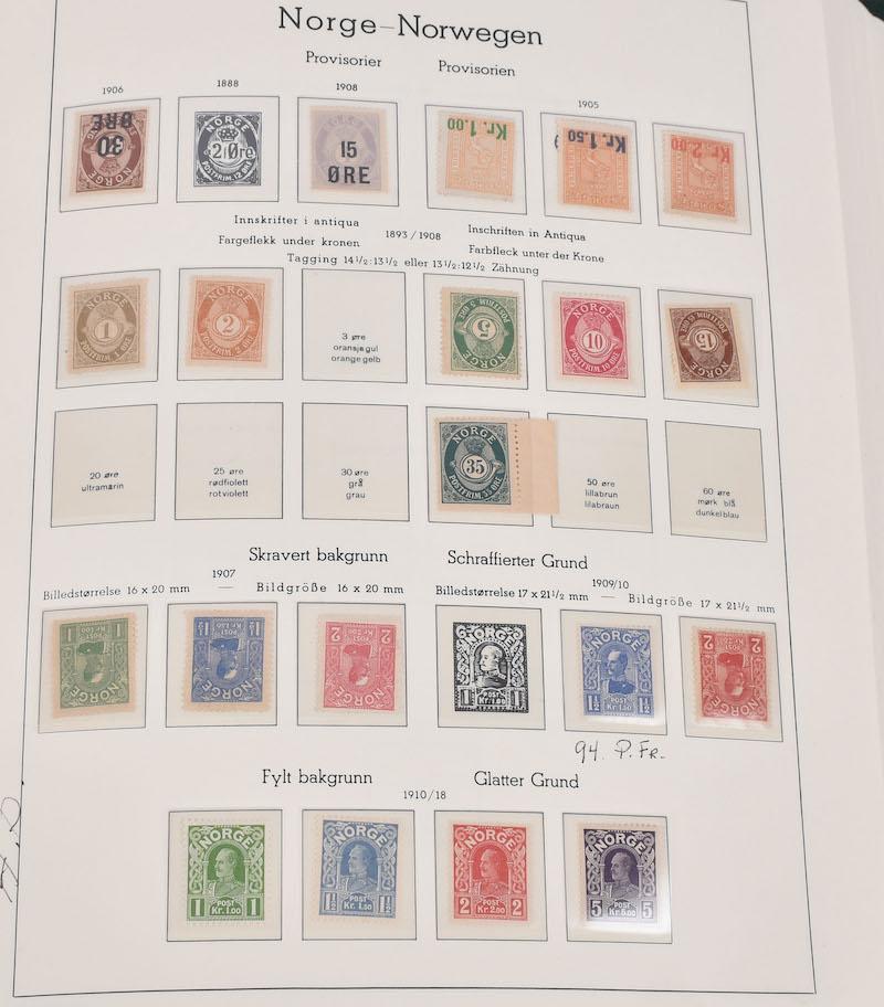 Lot 4759 - Samlinger/lotter over 1000,-  -  Skanfil Auksjoner AS  Public auction 211