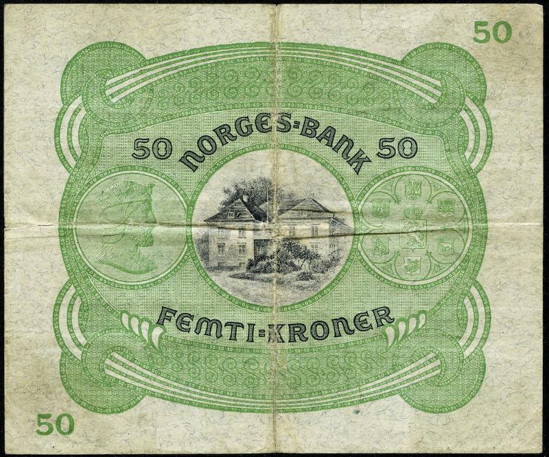 Lot 480 - 50-kr  -  Skanfil Auksjoner AS  Public auction 211