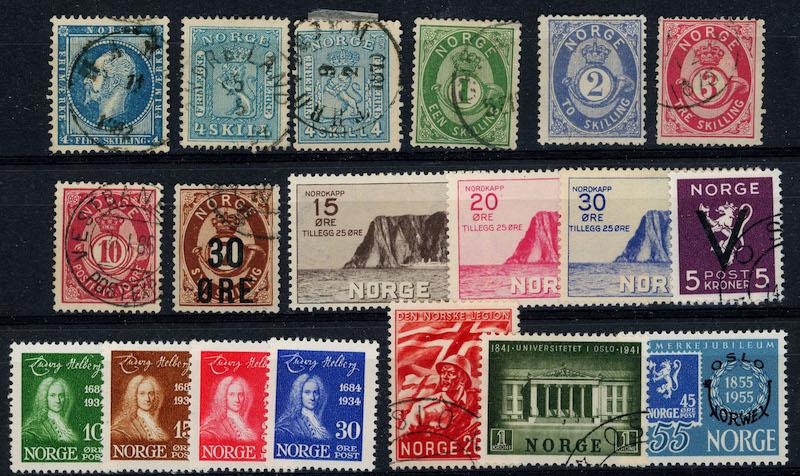 Lot 4835 - Samlinger/lotter over 1000,-  -  Skanfil Auksjoner AS  Public auction 211