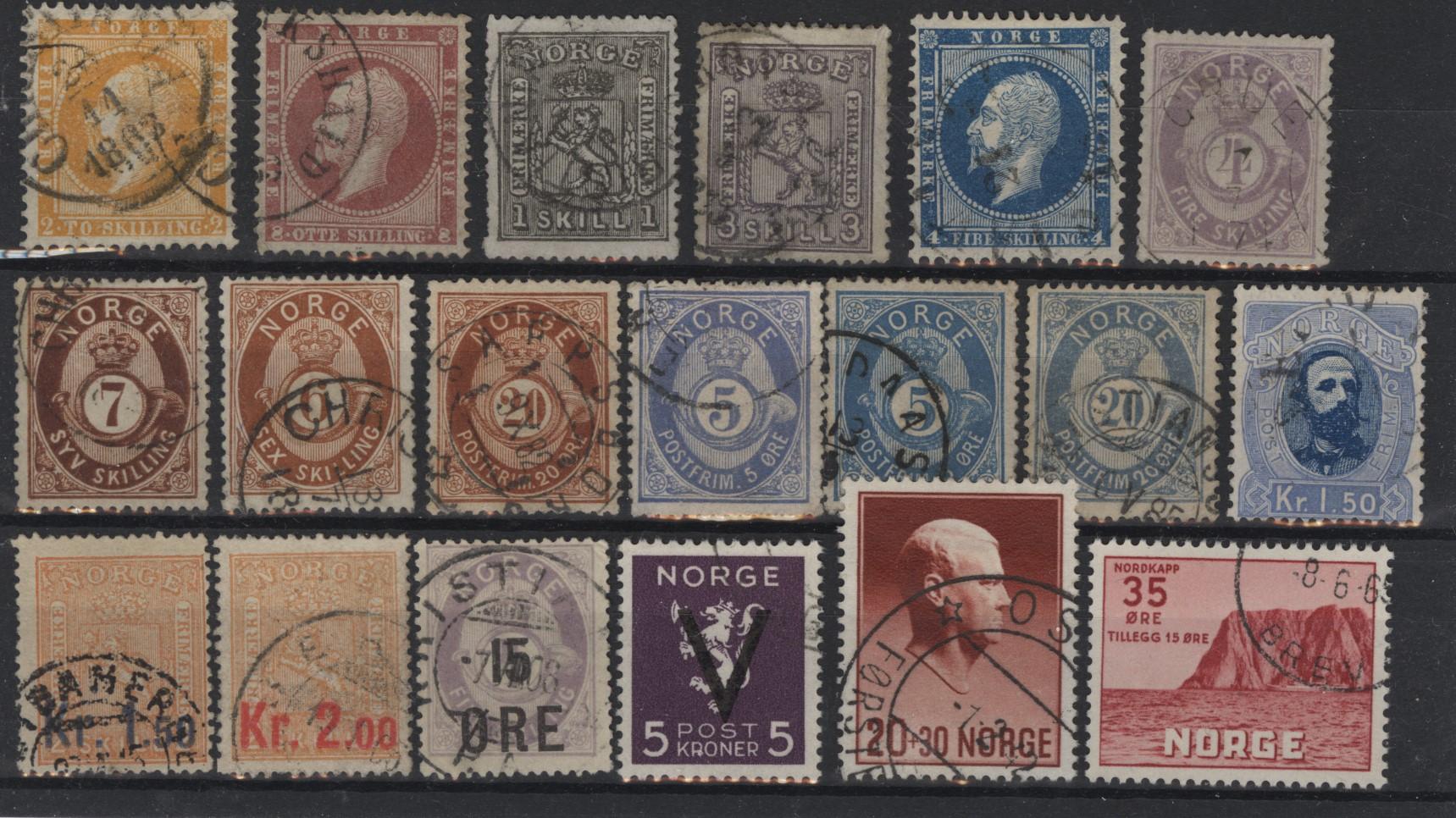 Lot 4837 - Samlinger/lotter over 1000,-  -  Skanfil Auksjoner AS  Public auction 211