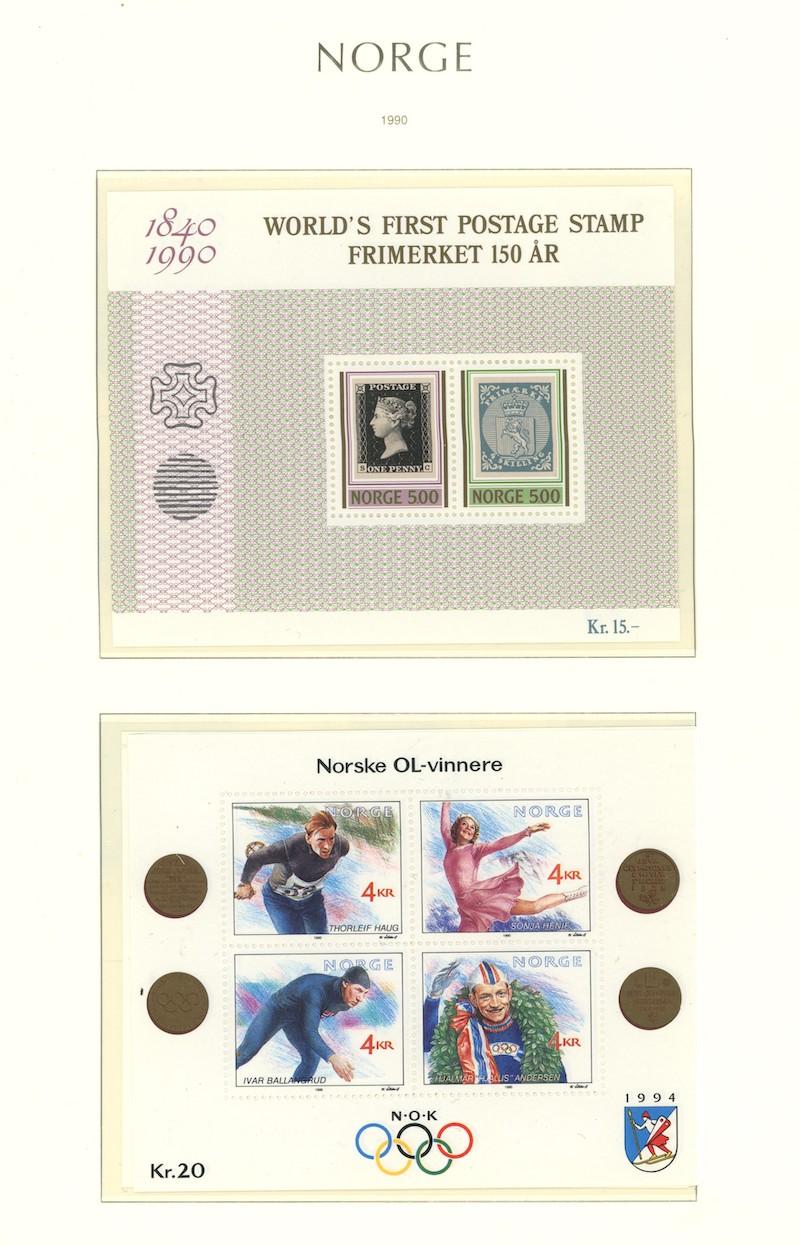 Lot 4856 - Samlinger/lotter over 1000,-  -  Skanfil Auksjoner AS  Public auction 211