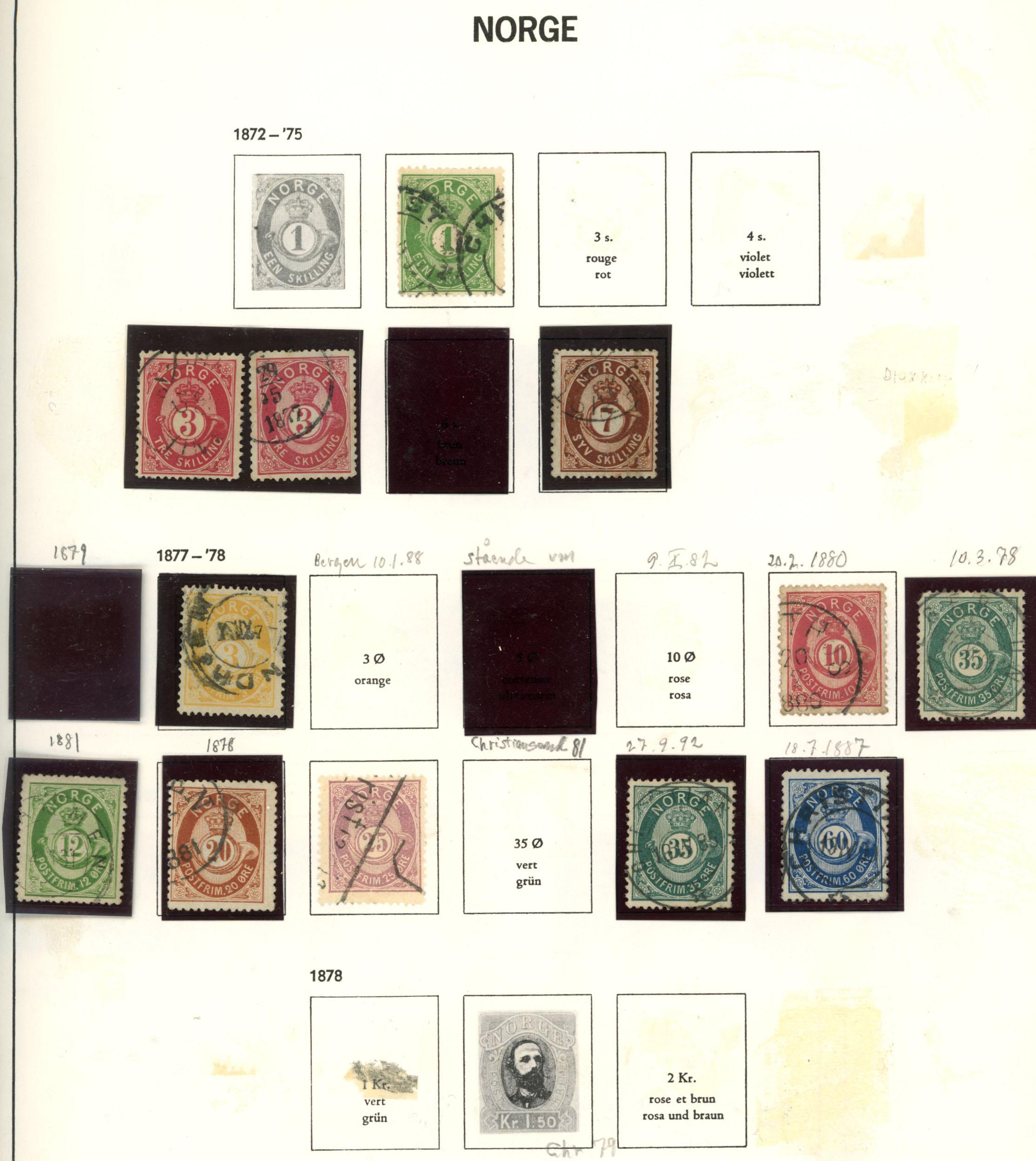 Lot 4882 - Samlinger/lotter 975,- til 400,-  -  Skanfil Auksjoner AS  Public auction 211