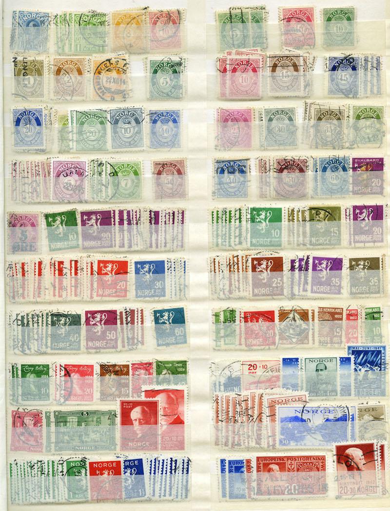Lot 4885 - Samlinger/lotter 975,- til 400,-  -  Skanfil Auksjoner AS  Public auction 211