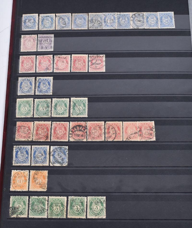 Lot 4911 - Realisasjonslotter - Frimerker (Norge)  -  Skanfil Auksjoner AS  Public auction 211