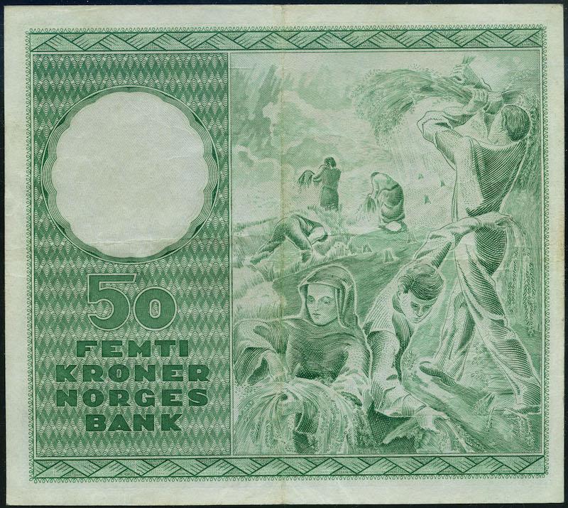 Lot 496 - 50-kr  -  Skanfil Auksjoner AS  Public auction 211