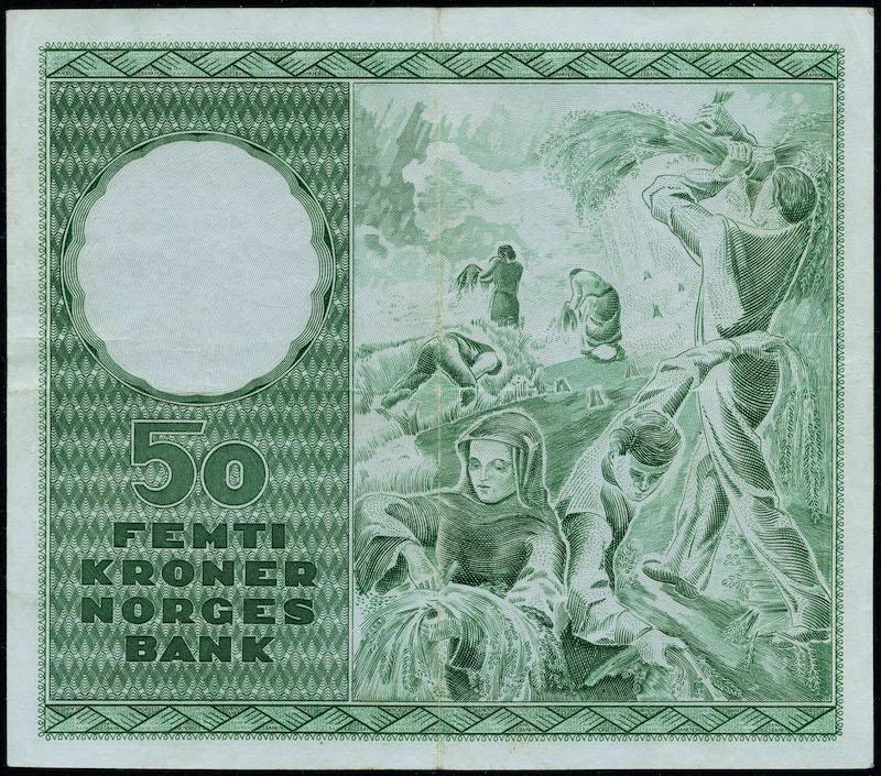 Lot 497 - 50-kr  -  Skanfil Auksjoner AS  Public auction 211