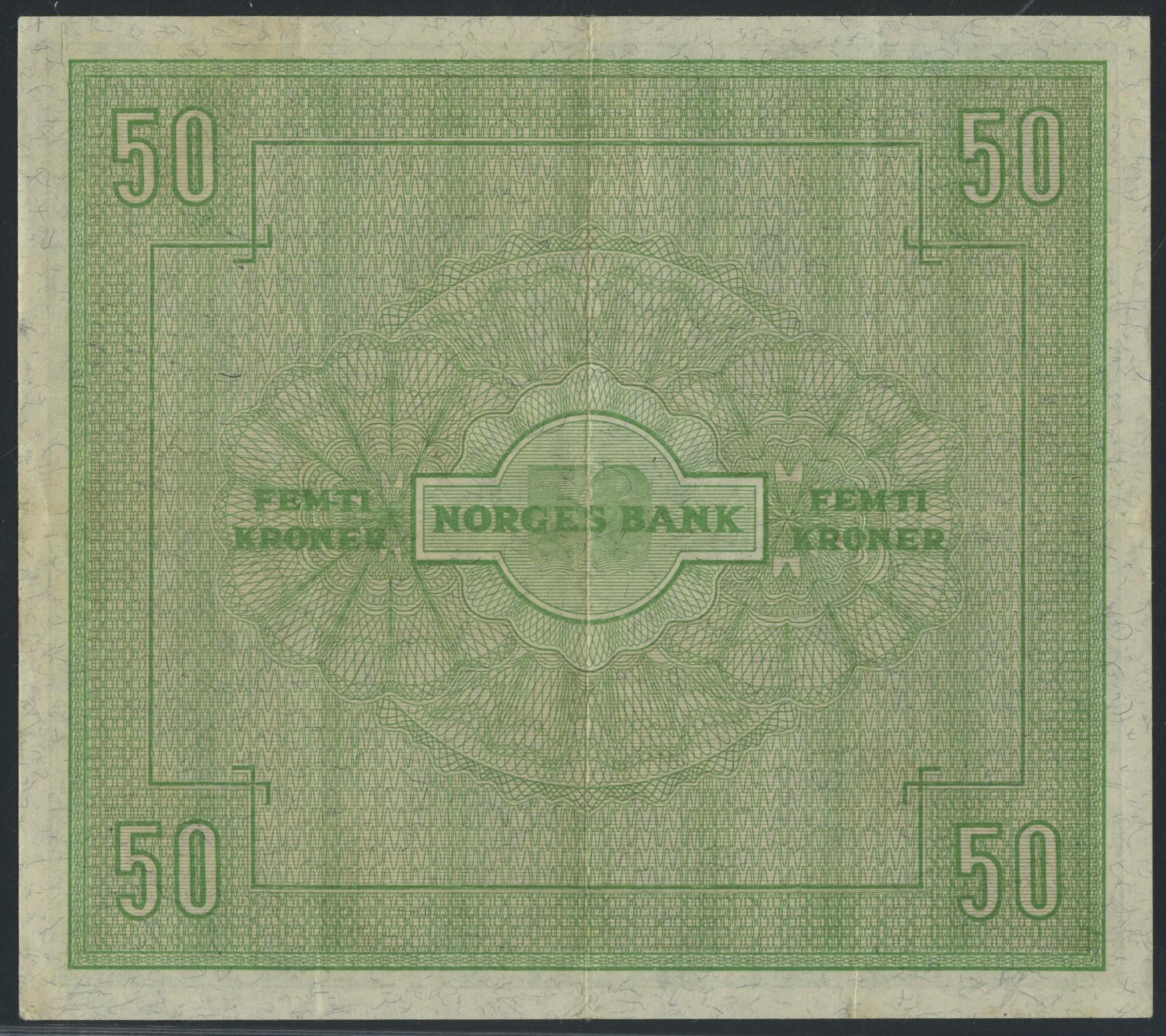 Lot 499 - 50-kr  -  Skanfil Auksjoner AS  Public auction 211