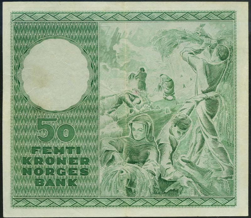 Lot 502 - 50-kr  -  Skanfil Auksjoner AS  Public auction 211