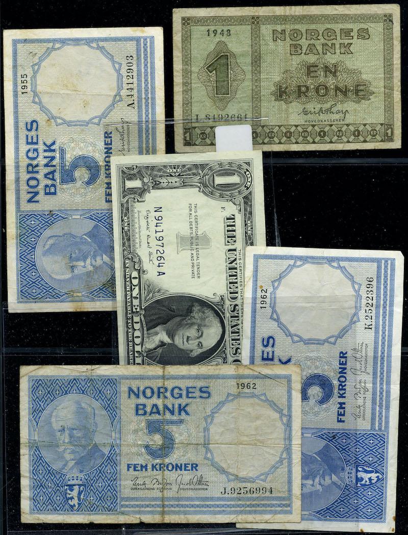 Lot 648 - Seddelsamlinger  -  Skanfil Auksjoner AS  Public auction 211