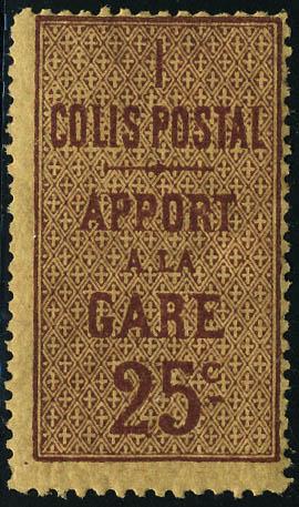 Lot 1336 - France colis postaux -  Francois Feldman F.C.N.P François FELDMAN sale #124