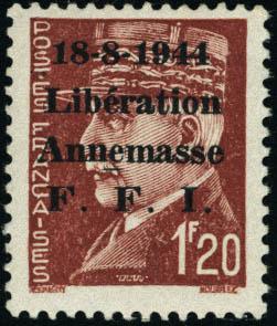 Lot 1414 - France timbres de liberation - cat. mayer -  Francois Feldman F.C.N.P François FELDMAN sale #124