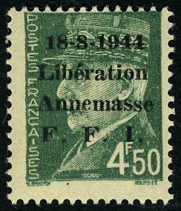 Lot 1415 - France timbres de liberation - cat. mayer -  Francois Feldman F.C.N.P François FELDMAN sale #124