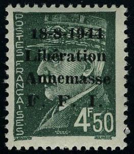 Lot 1417 - France timbres de liberation - cat. mayer -  Francois Feldman F.C.N.P François FELDMAN sale #124