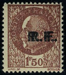 Lot 1422 - France timbres de liberation - cat. mayer -  Francois Feldman F.C.N.P François FELDMAN sale #124