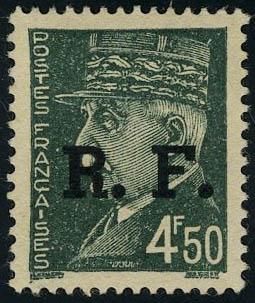 Lot 1435 - France timbres de liberation - cat. mayer -  Francois Feldman F.C.N.P François FELDMAN sale #124