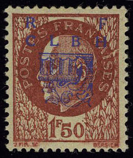 Lot 1456 - France timbres de liberation - cat. mayer -  Francois Feldman F.C.N.P François FELDMAN sale #124