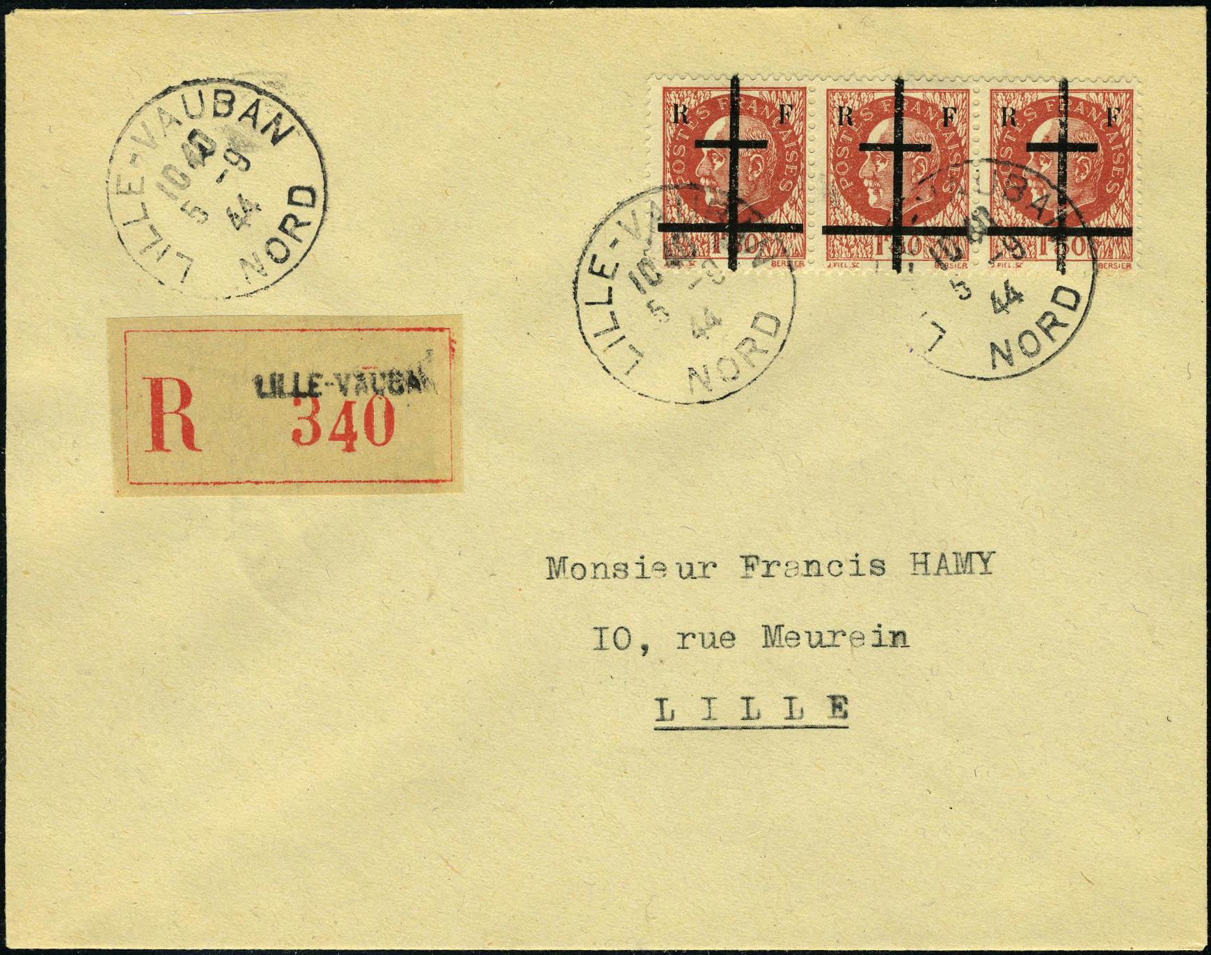 Lot 1464 - France timbres de liberation - cat. mayer -  Francois Feldman F.C.N.P François FELDMAN sale #124