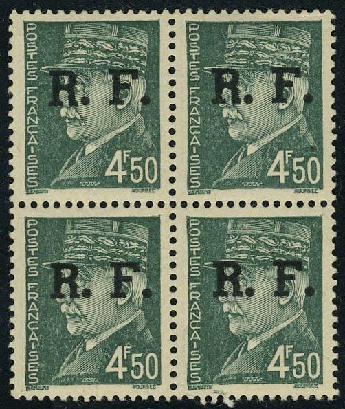 Lot 1467 - France timbres de liberation - cat. mayer -  Francois Feldman F.C.N.P François FELDMAN sale #124