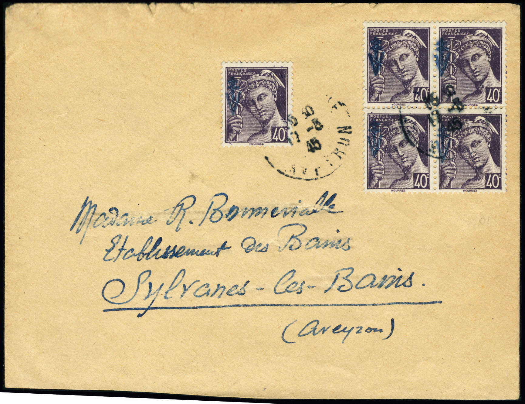 Lot 1487 - France timbres de liberation - cat. mayer -  Francois Feldman F.C.N.P François FELDMAN sale #124