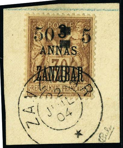 Lot 2891 - zanzibar  -  Francois Feldman F.C.N.P François FELDMAN sale #124