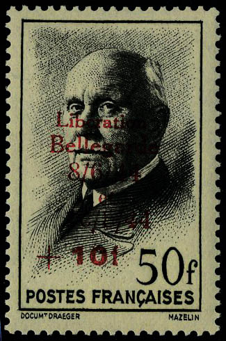 Lot 1020 - France timbres de liberation - cat. mayer -  Francois Feldman F.C.N.P François FELDMAN sale #127