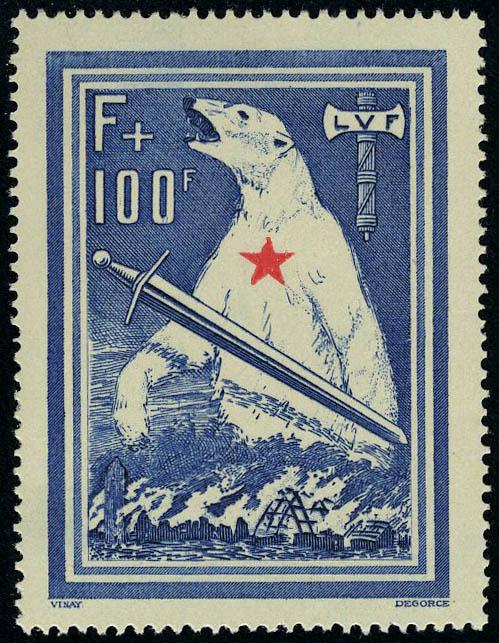 Lot 1110 - France l.v.f. -  Francois Feldman F.C.N.P François FELDMAN sale #127