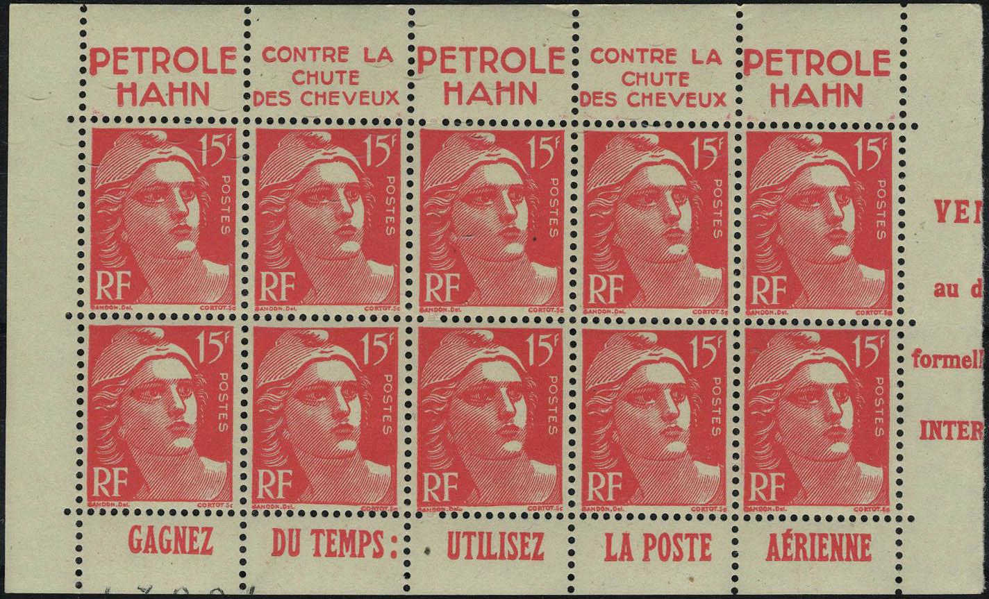 Lot 528 - France a partir de 1900 -  Francois Feldman F.C.N.P François FELDMAN sale #127